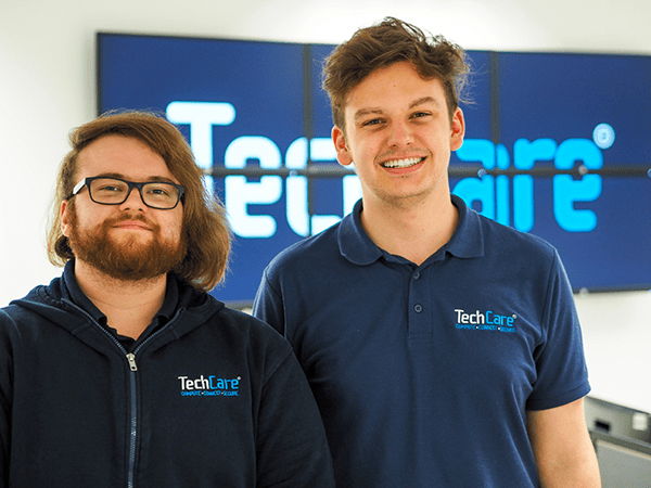 Tom and Lewis - Part of the TechCare IT team